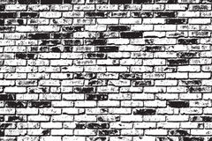 Brickwall Overlay Royalty Free Stock Photo