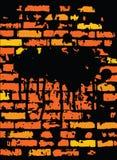 brickwall projekta grunge Obrazy Royalty Free