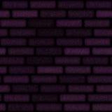 Brickwall. Seamless brick wall background close up vector illustration