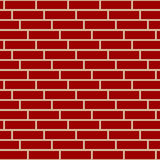 Brickwall / stone wall repeatable pattern with irregular tiling. Stock Image