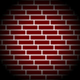 Brickwall / stone wall repeatable pattern with irregular tiling. Stock Photography