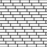 Brickwall / stone wall repeatable pattern with irregular tiling. Royalty Free Stock Images