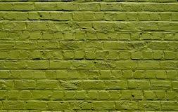 Brickwall verde Foto de Stock Royalty Free