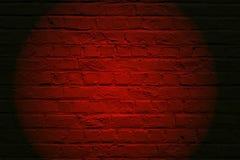Brickwall vermelho Foto de Stock