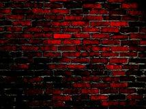 Brickwallpaper Dark Graphic Royalty Free Stock Images