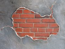 brickwallram Royaltyfri Foto