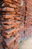 Brickwalls Stockfoto