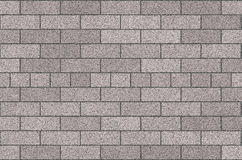 Brickwork. The new brickwork. Mosaic, in neat rows, light-dark gray background Stock Images