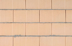 Brickwork. Brick brickwork masonry wall detail Stock Photo