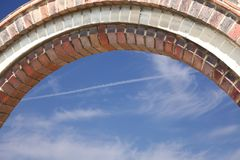 Brickwork arch Stock Images