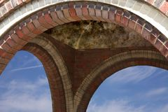 Brickwork arch Stock Photography