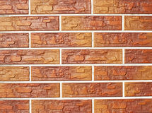 Brickwork as texture and background Stock Images