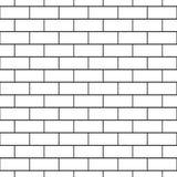 Brickwork bezszwowy wzór Obraz Stock