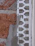 Brickwork and Cement Render Detail Royalty Free Stock Photo