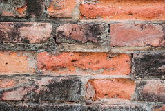 Brickwork,. Construction red brick Places of worship for the Buddhists Royalty Free Stock Image