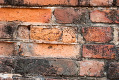 Brickwork,. Construction red brick Places of worship for the Buddhists Stock Images