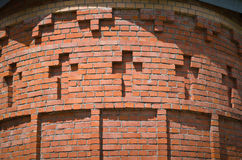 Brickwork with crosses. Royalty Free Stock Photography