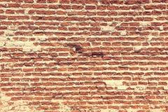 Brickwork czerwona cegła Obraz Stock
