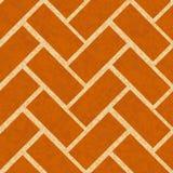 Brickwork floor, wall seamless background Stock Photos