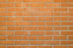 Brickwork od czerwonych cegieł Fotografia Stock