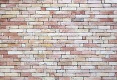 Brickwork from old brick stock photo