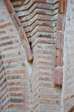 Brickwork on old building Royalty Free Stock Photos