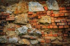Brickwork of old wall Royalty Free Stock Photos