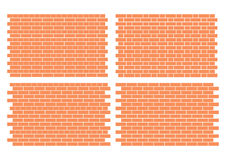 Brickwork Patterns Stock Photography
