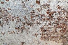 Brickwork with plaster Stock Image