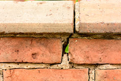 Brickwork render hole Royalty Free Stock Images