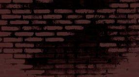 Brickwork. Small wall made of bricks Stock Photo