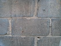 Brickwork texture. Grey wall Royalty Free Stock Photography