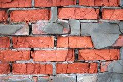 brickwork wietrzał Obraz Royalty Free