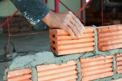 Masonry work Royalty Free Stock Images