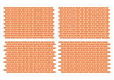 brickworkmodeller Arkivbild