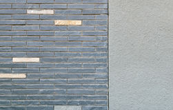 brickworkplasterwork Royaltyfri Foto