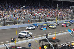 Brickyard 400, 2012 stock image