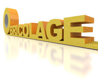 Bricolage, insulation Royalty Free Stock Photography