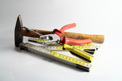Bricolage Tools Stock Photography