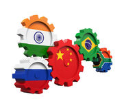 BRICS Concept Illustration Royalty Free Stock Images