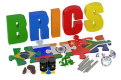 BRICS concept Stock Photo