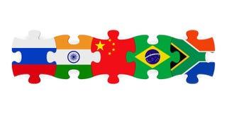 BRICS pojęcia ilustracja Obraz Stock