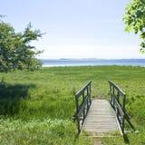 bridżowa łąka Obraz Stock