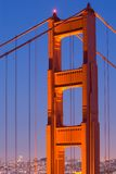 bridżowa brama złota Obrazy Royalty Free