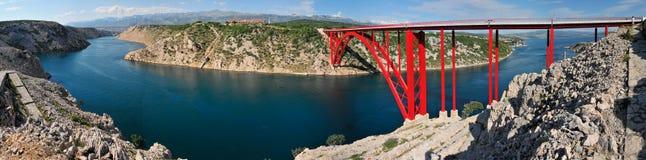 bridżowa czerwień Zdjęcie Royalty Free