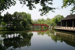 bridżowa czerwień Zdjęcie Stock