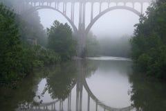 bridżowa mgła Obraz Royalty Free