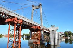 Bridżowa naprawa i budowa Obraz Stock