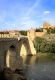 bridżowa oknówka świątobliwy Spain Toledo obraz stock