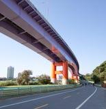 bridżowa rower ścieżka Taiwan zdjęcie royalty free
